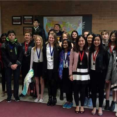 "ISM students participate in ""A Vous La Parole"" Annual French Speaking Contest"