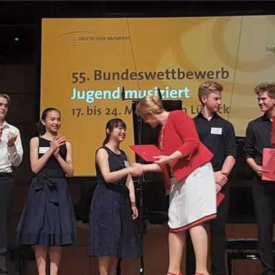 ISF Student Wins First Place in Prestigious German Music Competition