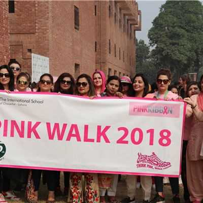 The International School of Choueifat ─ Lahore Goes Pink for Pink October