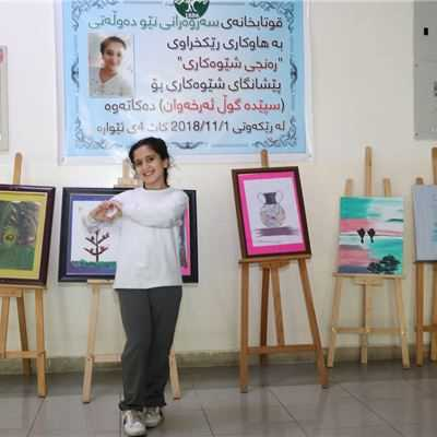 SABIS® PPP STUDENT OPENS HER FIRST ART GALLERY