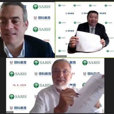 SABIS® AND ULINK SIGN JOINT VENTURE CONTRACT FOR NEW SCHOOLS ACROSS CHINA