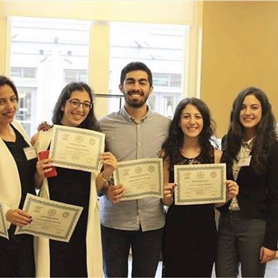 ISC-Choueifat Students Shine at Model Arab League in Washington D.C.