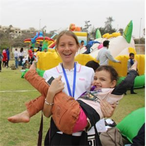 "ISC-Cairo Hosts ""1,100 Smiles"" Event"