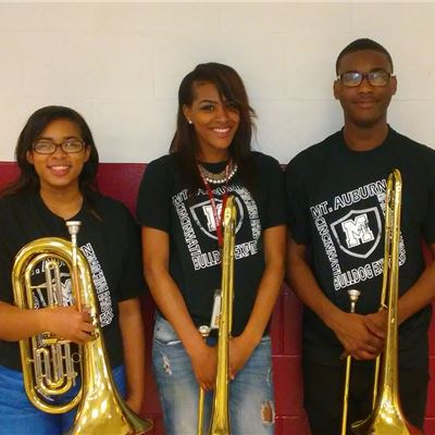 Three MAIA Seniors Awarded Band Scholarships