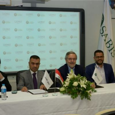 SABIS® Signs Agreement for Cadmus International School – Baghdad